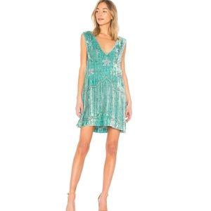 Spell & The Gypsy Elsa Sequin Dress in Opal